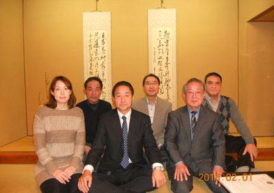 第9支部「震災対策協議会合同新年会」の報告(進藤支部長)