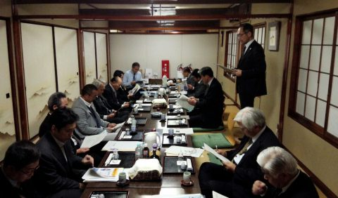 第1支部総会報告 (飯田勝利支部長)